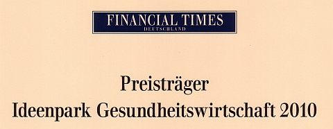 Awarded by Financial Times Germany